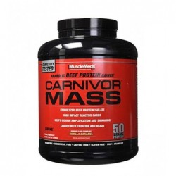 MuscleMeds Carnivor Mass Anabolic Beef Protein Gainer 2.7 kg
