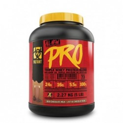 Mutant Pro Triple Whey Protein Blend 5 lb 2.27 kg
