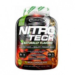 Nitro Tech 4lb 1.81 Kg Naturally Flavoured | MuscleTech