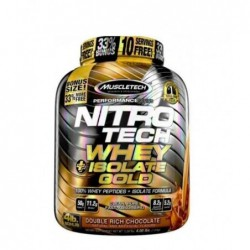 Nitrotech Whey Isolate Gold 4lb 1.8 kg