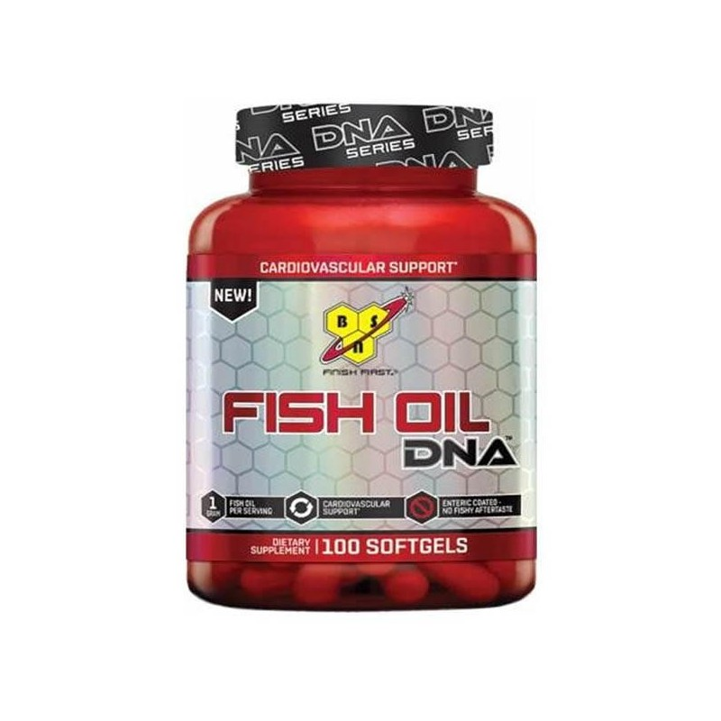 BSN Fish Oil DNA 100 softgels