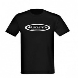 Muscletech T Shirt Black